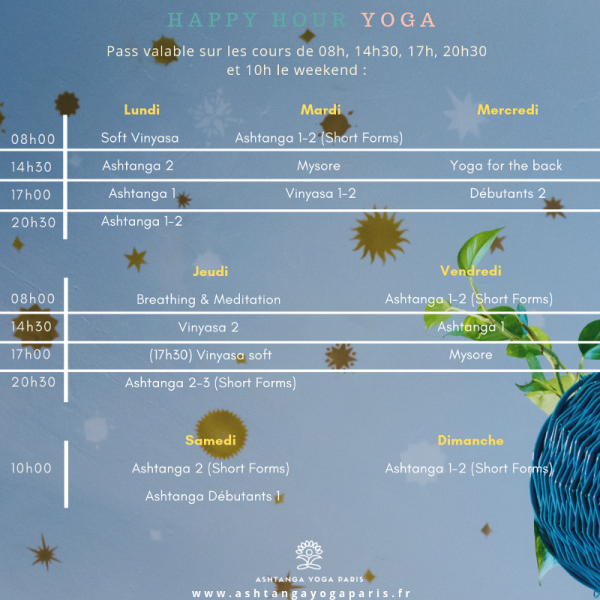 Offre Happy Hour Yoga - PDF