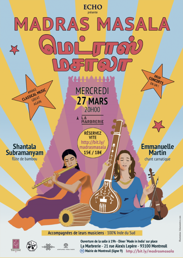 Madras Masala - Indian Music Concert - March 27, 2019