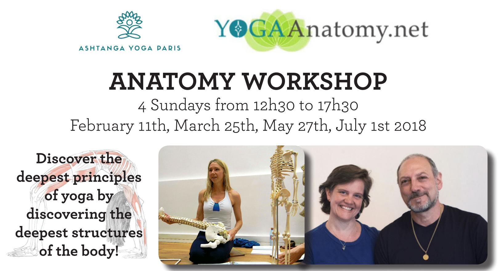 Anatomy Workshop with Linda Munro + Leslie Kaminoff & Amy Matthews
